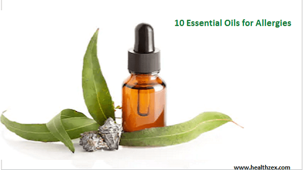 10 Essential Oils for Allergies and how to use them