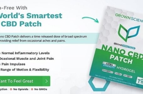 Grown Science Nano CBD Patch Review