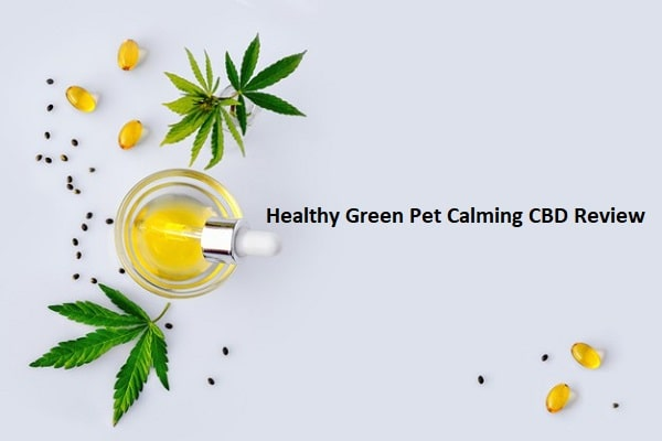 Healthy Green Pet Calming CBD